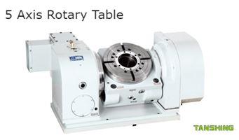 Tanshing 5 Axis Rotary Tables